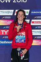 BUYSKimberly BEL Bronze Medal<br /> 50m Butterfly Women Final<br /> Glasgow 09/08/2018<br /> Swimming Tollcross International Swimming Centre<br /> LEN European Aquatics Championships 2018 <br /> European Championships 2018 <br /> Photo Giorgio Scala/ Deepbluemedia /Insidefoto
