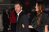 Christophe Mae and guest pose on the red carpet as she arrives to attend the 21st NRJ Music Awards ceremony at the Palais des Festivals in Cannes, southeastern France, on November 9, 2019<br /> Christophe Mae et son invitee posent sur le tapis rouge lors de son arrivee a la 21e ceremonie des NRJ Music Awards au Palais des Festivals a Cannes, dans le sud-est de la France - le 9 novembre 2019.<br /> Eric Dervaux_ DALLE