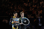 MURRAY V DJOKOVIC AT THE  Australian Open in Melbourne Australia on 26th  January 2013
