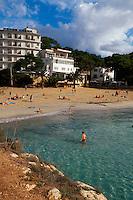 Spanien, Mallorca, Badebucht von Cala Santanyi