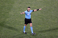 COLUMBUS, OH - DECEMBER 12: Referee Jair Marrufo during a game between Seattle Sounders FC and Columbus Crew at MAPFRE Stadium on December 12, 2020 in Columbus, Ohio.
