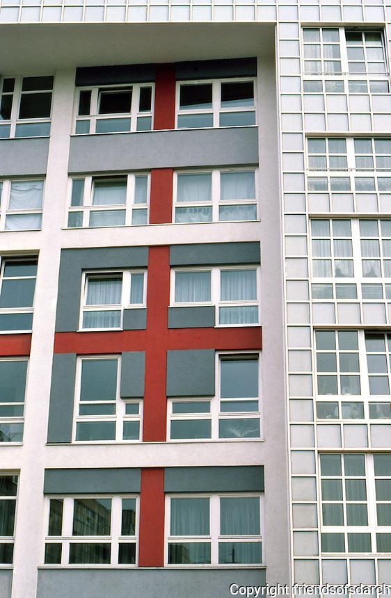 Peter Eisenman, IBA Social Housing, Berlin. Detail. (Photo '87)