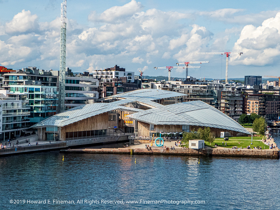 Astrup Fearnley Museum of Modern Art, gracing the Oslo harbor and complementing the Opera House