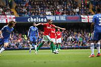 Pictured: Chico Flores<br /> Barclays Premier League, Chelsea FC (blue) V Swansea City,<br /> 28/04/13