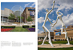 """Two Dancers sculpture outside the Denver Performing Arts Complex.<br /> From John's 5th book: """"Denver Colorado: A Photographic Portrait."""" Private photo tours of Denver by John. Click the above CONTACT button for inquiries. Denver Colorado tours."""