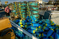 Crab fishing, Monterey, California, USA, Pacific Ocean