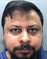 "Pictured: Police custody picture of Katar Ibm Shahin<br /> Re: South Wales Police welcomes the sentence received by Katar Ibm Shahin, 40, following his appearance at Swansea Crown Court on 20 November 2017.<br /> Shahin was found guilty of the rape of a 17 year-old female victim, which occurred in the early hours of 04/06/2016 – and has been sentenced to 10 years in prison.<br /> The taxi driver picked up the vulnerable victim and took her to his home address in Aberdyberthi Street, Hafod, where the sexual assault took place.<br />  <br /> Detective Sergeant Mark Kayes said:<br /> ""Despite the serious sexual assault the victim had the strength and courage to support the police prosecution and gave vital evidence of her harrowing and traumatic experience.<br /> ""This sexual predator used his taxi as a means to take the vulnerable victim to a place, which she thought was her home, but instead he used the situation to commit rape.<br /> ""In addition, I would like to highlight that the victim was supported throughout by specialist officers, from Morriston CID, who continue to work tirelessly for victims of sexual assault and target and pursue individuals who exploit the most vulnerable persons within our society."""