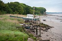 Lydney on the banks of the River Severn, Gloucestershire.