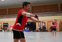 Doppel 2. Mannschaft Peter Pawelczyk - Mörfelden-Walldorf 09.02.2020: RW Walldorf Badminton