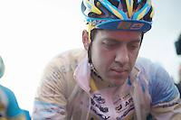 (later winner) Tom Meeusen (BEL) on the start line<br /> <br /> 2014 Noordzeecross<br /> Elite Men