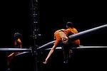 VOLEUSE....Conception : Julie Nioche & Virginie Mira..Chorégraphie : Julie Nioche..Scénographie : Virginie Mira..Crée et dansé par : Margot Dorléans, Ariane Guitton, Bérénice Legrand, Julie Nioche..Création lumière : Gilles Gentner..Création musique : Alexandre Meyer..Régie Générale : Olivier Mendili..Costumes : Anna Rizza..Le 15/11/2012..Lieu : Le Théâtre de la cité internationale..Ville : PARIS..© Laurent Paillier / photosdedanse.com..All rights reserved