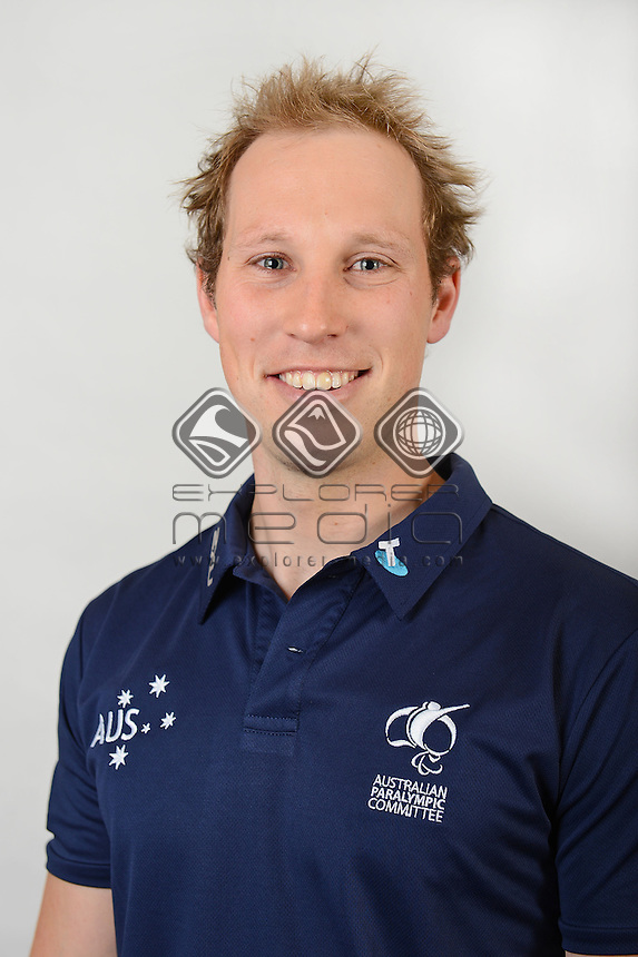 Cameron Rahles-Rahbula / Athlete<br /> Australian Paralympic Committee<br /> 2014 Sochi Paralympic Games<br /> (Games Processing)<br /> Melbourne VIC April 2013<br /> © Sport the library / Jeff Crow