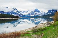 Sherburne Lake at Many Glacier