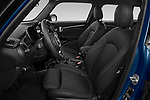 Front seat view of 2021 MINI MINI Cooper-Yours 5 Door Hatchback Front Seat  car photos
