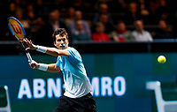 Rotterdam, The Netherlands, 9 Februari 2020, ABNAMRO World Tennis Tournament, Ahoy, Aljaz Bedene (SLO).<br /> Photo: www.tennisimages.com