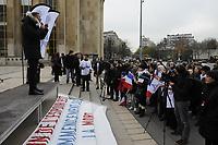 FILE - Manif a Paris le 13 decembre 2015<br /> <br /> PHOTO  :  Agence Quebec Presse