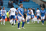 Kilmarnock v St Johnstone…09.04.16  Rugby Park, Kilmarnock<br />A dissappointed Liam Craig leaves the pitch at full time<br />Picture by Graeme Hart.<br />Copyright Perthshire Picture Agency<br />Tel: 01738 623350  Mobile: 07990 594431