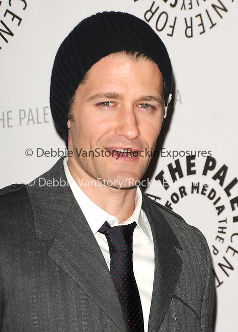 Matthew Morrison at the Twenty-Seventh Annual PaleyFest: William S. Paley Television Festival honoring The Cast of Glee held at The  Saban Theatre in Beverly Hills, California on March 13,2010                                                                   Copyright 2010  DVS / RockinExposures