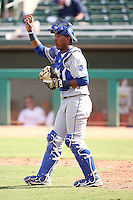 Salvador Perez - Surprise Rafters - 2010 Arizona Fall League.Photo by:  Bill Mitchell/Four Seam Images..