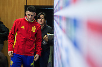 Spainsh Aritz Aduriz during the press conference in the city of football of Las Rozas in Madrid, Spain. November 10, 2016. (ALTERPHOTOS/Rodrigo Jimenez) ///NORTEPHOTO.COM