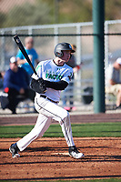 Andy Blum (11) of Owen J. Roberts High School in Pottstown, Pennsylvania during the Baseball Factory All-America Pre-Season Tournament, powered by Under Armour, on January 13, 2018 at Sloan Park Complex in Mesa, Arizona.  (Zachary Lucy/Four Seam Images)