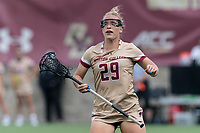 NEWTON, MA - MAY 16: Phoebe Day #29 of Boston College game portrait during NCAA Division I Women's Lacrosse Tournament second round game between Temple University and Boston College at Newton Campus Lacrosse Field on May 16, 2021 in Newton, Massachusetts.