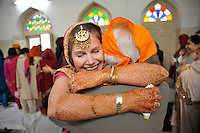 India: My Big Fat Sikh Wedding by Chris Stowers