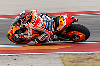 2nd October 2021; Austin, Texas, USA;  Marc Marquez (93) - (SPA) on a Honda during Free Practise 3 at the MotoGP Red Bull Grand Prix of the Americas held October 2, 2021 at the Circuit of the Americas in Austin, TX.