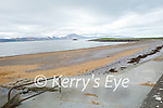 A very quiet Fenit Beach on Monday