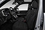 Front seat view of a 2018 Toyota Tacoma TRD Sport Double Cab 4 Door Pick Up front seat car photos