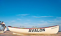 Avelon beach partol boat. Avelon, New Jersey