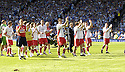 30/05/2009  Copyright  Pic : James Stewart.sct_jspa_30_rangers_v_falkirk.FALKIRK PLAYERS  AT THE END OF THE GAME.James Stewart Photography 19 Carronlea Drive, Falkirk. FK2 8DN      Vat Reg No. 607 6932 25.Telephone      : +44 (0)1324 570291 .Mobile              : +44 (0)7721 416997.E-mail  :  jim@jspa.co.uk.If you require further information then contact Jim Stewart on any of the numbers above.........