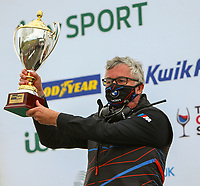 30th August 2020; Knockhill Racing Circuit, Fife, Scotland; Kwik Fit British Touring Car Championship, Knockhill, Race Day; BMW lift the round 11 manufacturing trophy