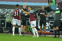Harrison Ashby of West Ham United during West Ham United vs Charlton Athletic, Caraboa Cup Football at The London Stadium on 15th September 2020