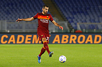 Roma s Henrikh Mikhitaryan in action during the Serie A soccer match between Roma and Benevento at Rome's Olympic Stadium, October 18, 2020.<br /> UPDATE IMAGES PRESS/Riccardo De Luca