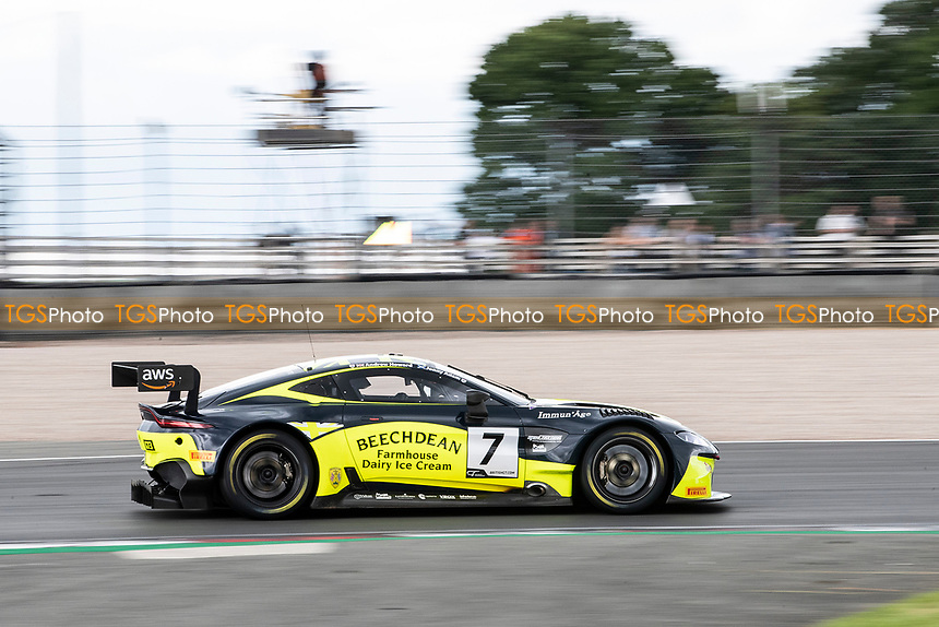 Andrew Howard & Jonny Adam, Aston Martin Vantage AMR GT3, Beechdean AMR finished on the podium in third place during the British GT & F3 Championship on 11th July 2021