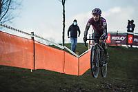 Alicia Franck (BEL/Proximus - Alphamotorhomes - Doltcini)<br /> <br /> CX Belgian Nationals 2021<br /> <br /> Women's Elite Race<br /> Belgian National CX Championships<br /> Meulebeke 2021<br /> <br /> ©kramon