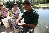 01.08.2015: Reusenrundgang beim ASV Rotauge