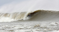Surfing at the Point. near Whitby , North Yorkshire ..October 2008..pic copyright Steve Behr / Stockfile