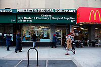 NEW YORK, NY - JANUARY 7: Atmosphere as New York State Lieutenant Governor Kathy Hochul, along with Manhattan Borough President Gale Brewer and New York State Senator Brad Hoylman visits a COVID 19 Micro-testing site and thanks Healthcare Workers held at the Mobility & Medical Equipment Store in the Chelsea section of New York City on January 7, 2021.  <br /> CAP/MPI43<br /> ©MPI43/Capital Pictures