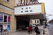 Brooklyn, New York<br /> March 20, 2020<br /> 12:42 PM<br /> <br /> Brooklyn under the coronavirus pandemic. <br /> <br /> Closed Nitehawk movie theater in Park Slope, Brooklyn due to fear of spreading the virus.