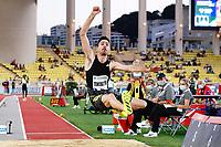 9th July 2021, Monaco, France; Diamond League Athletics, Herculis meeting, Monaco; Miltiadis Tentoglou Greece  mens long jump