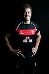 Lee Jones poses during the Hong Kong 7's Squads Portraits on 5 March 2012 at the King's Park Sport Ground in Hong Kong. Photo by Andy Jones / The Power of Sport Images for HKRFU