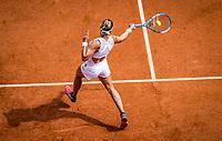 Paris, France, 27 May, 2019, Tennis, French Open, Roland Garros, Pauline Parmentier (FRA)<br /> Photo: Henk Koster/tennisimages.com