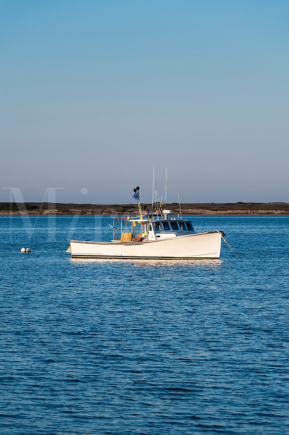 Lobster boat, Nauset Harbor, Orleans, Cape Cod, MA