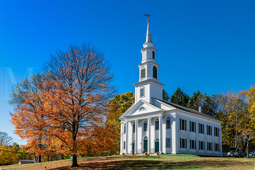 Charming New England church.