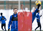 St Johnstone Training…<br />Jamie McCart pictured with Ali McCann during training ahead of Sundays game against Celtic.<br />Picture by Graeme Hart.<br />Copyright Perthshire Picture Agency<br />Tel: 01738 623350  Mobile: 07990 594431