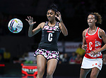 28/10/17 Fast5 2017<br /> Fast 5 Netball World Series<br /> Hisense Arena Melbourne<br /> England v Sth Africa<br /> <br /> Lauren Lee Christians<br /> <br /> <br /> Photo: Grant Treeby