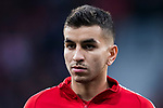 Angel Correa of Atletico de Madrid looks on prior to the UEFA Europa League 2017-18 Round of 16 (1st leg) match between Atletico de Madrid and FC Lokomotiv Moscow at Wanda Metropolitano  on March 08 2018 in Madrid, Spain. Photo by Diego Souto / Power Sport Images