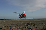 Coast Guard training with Rescue 116